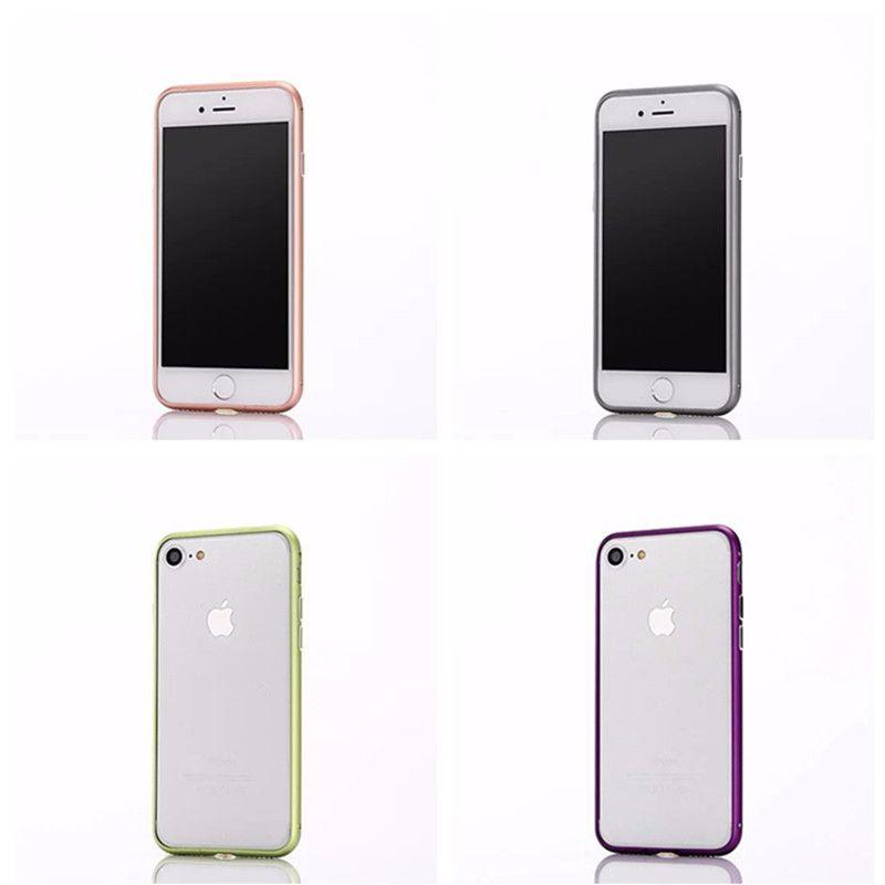 Newest Aluminum Metal Bumper Hard Case Ultra Thin Slim Frame Bumper For iPhone 7 Plus 6 6S 4.7 inch