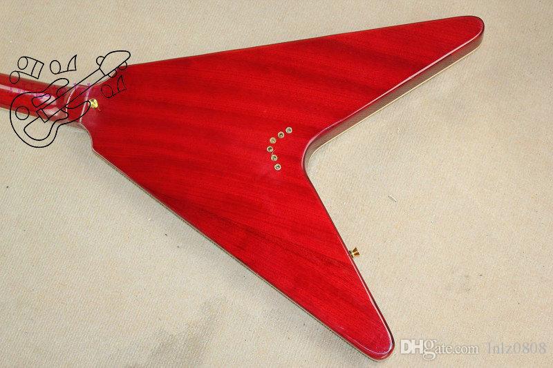 fabbrica vende la mano sinistra speciale chitarra elettrica e la chitarra elettrica rossa spedizione gratuita