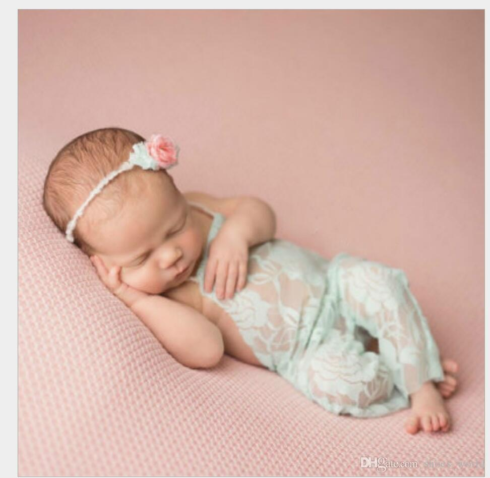 7d8883252a3 2019 2017 Newborn Baby Lace Romper Photography Prop Clothes Boy Photo Prop  Rompers Vintage Baby Romper Cute Clothings From Shoes world