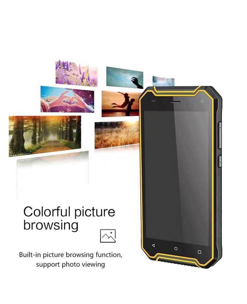 "Fashion P8 Phone 5.0"" IP68 MT6737 Quad Core Smartphone 5000mAh Big Battery Android7.0 3G GPS 2GBRAM 16GBROM 4G LTE Waterproof SmartPhone"