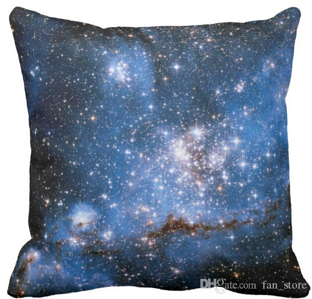 Throw Pillow Case, NGC 346 Infant Stars Square Sofa and Car Cushions Cover 16inch,18inch,20inch