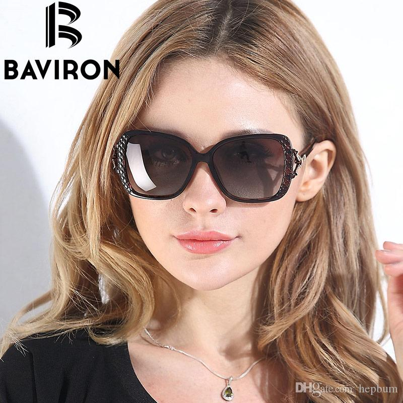 b18cca5a69 BAVIRON Square Snake Style Sunglasses Women HD Polaroid Lens Sun Glasses  New Fashion Sunglasses 2016 New UV400 Oculos De 2817 Sport Sunglasses  Prescription ...