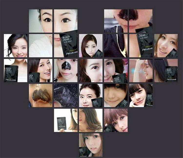 2017 PILATEN Facial Minerals Conk Nose Blackhead Remover Mask Pore Cleanser Nose Black Head EX Pore Strip DHL