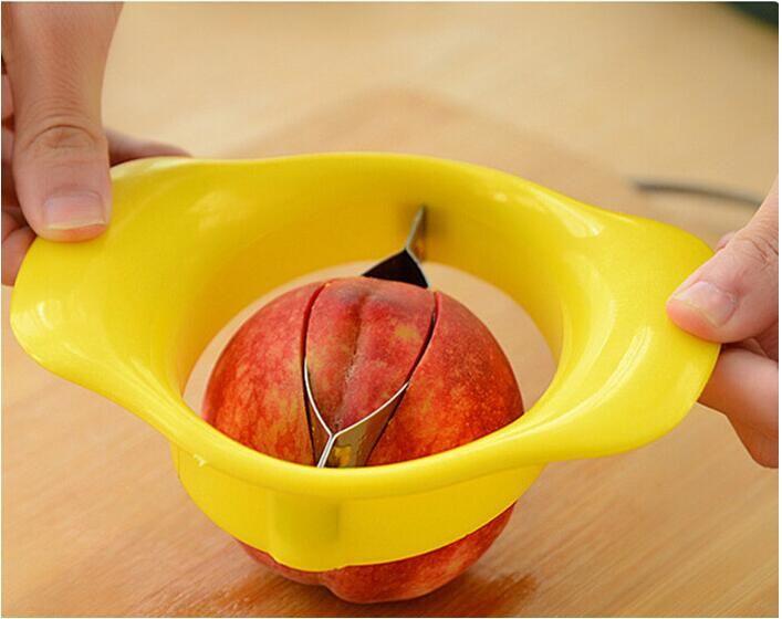 Pratico Spaccalegna Mango Utensile verdure Utensili pesche Pelapatate Trinciatrice Affetta Coltello da cucina Gadget Accessori Forniture Prodotti