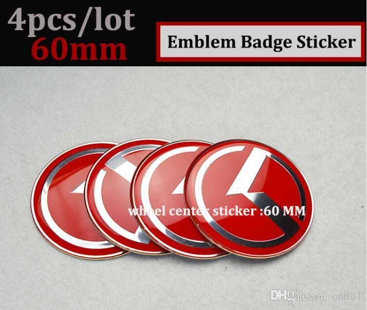 Bonne qualité voiture roue moyeu bouchon roue centre badge couverture emblème étiquette OPTIMA K2 / K3 / K4 / K5 sorento style de voiture