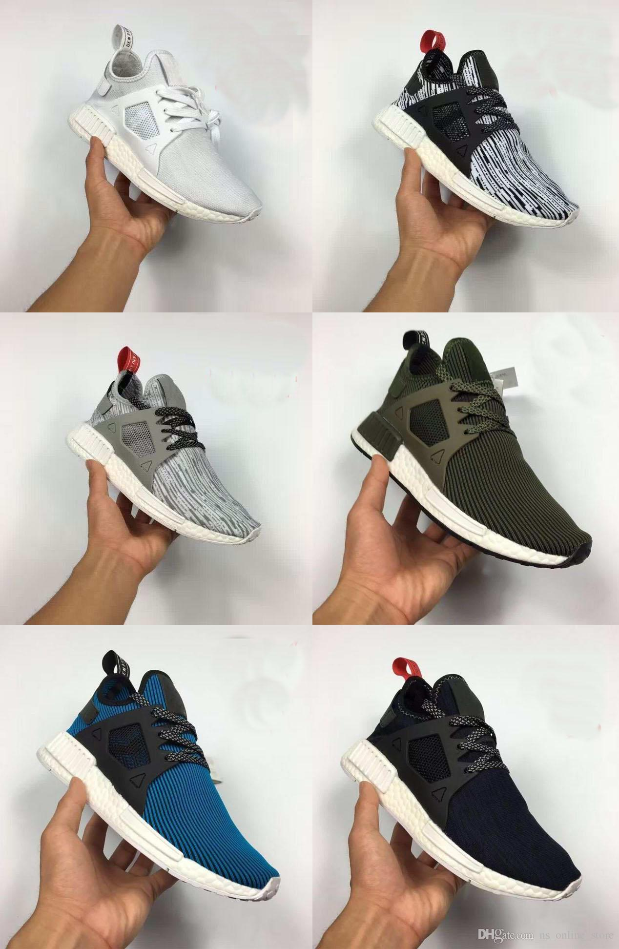 ad514ba00307b NMD XR1 Basf Boots Glitch Black White Blue Camo Pack Ultra Boost For  Men Women Running Sports Shoes Outdoor Jogging Sneakers Size 36 45 Womans  Running Shoes ...