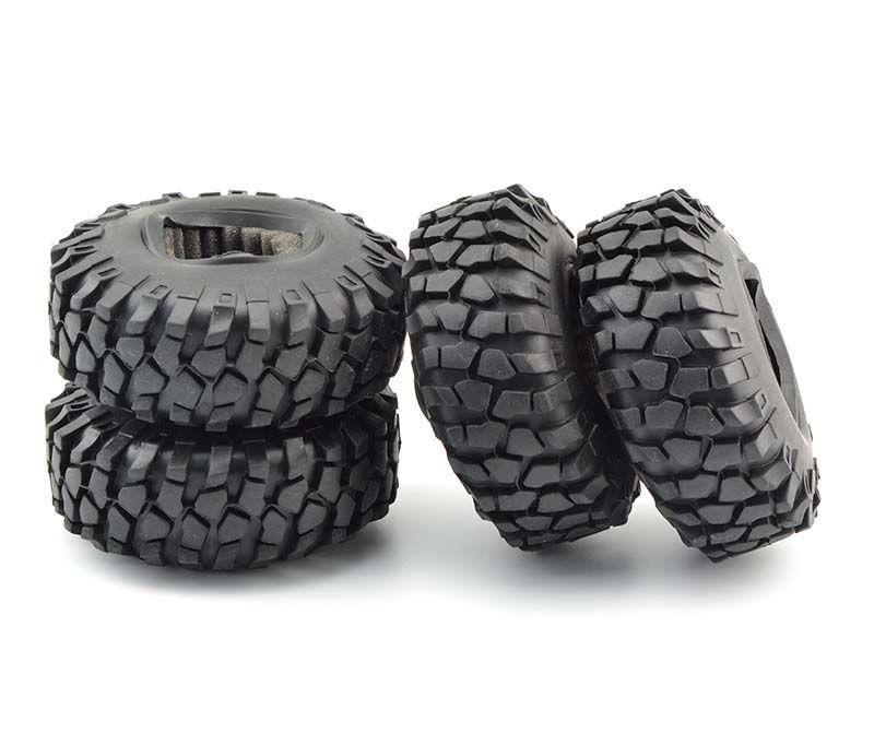 Lnl 4 قطع 1:10 rc الزاحف 108 ملليمتر الإطارات 1.9 '' عجلة ريم beadlock ل محوري scx10 d90 rc روك الزاحف شاحنة