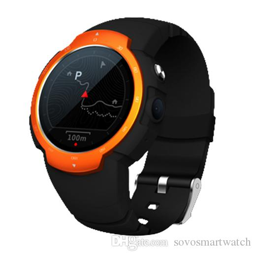 Android 5 1 Smart Watch Phone SW06 3G Outdoor Outdoor Camera Heart monitor  GPS WIFI Pedometer Sleep Monitor Weather Install Apps Waterproof