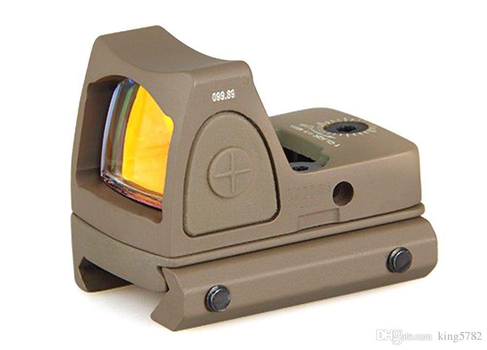 Trijicon RMR Röd Dot Sigh Style Red Dot Syn med switch för jakt