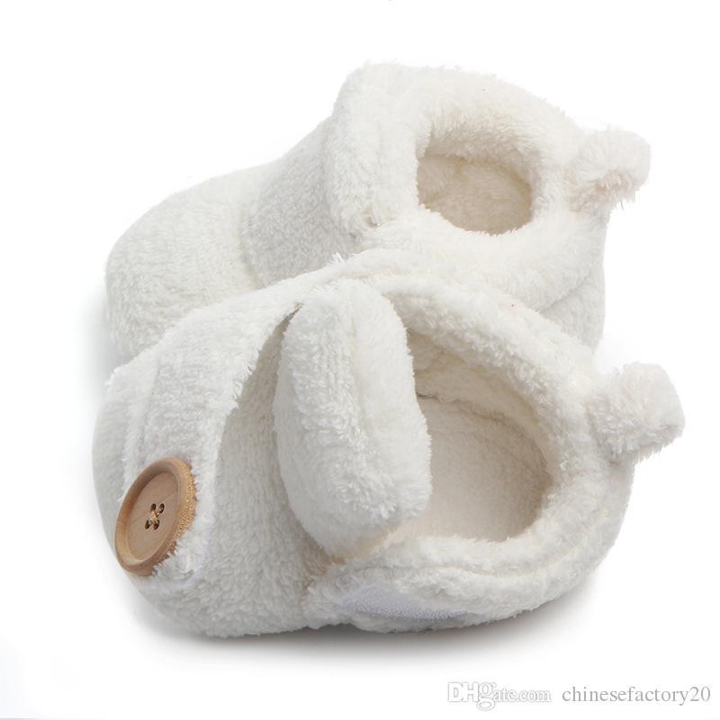 Winter neugeborenes baby baumwolle schuhe prewalker rutschfeste rutschfeste weiche untere cartoon erste wanderer schuhe nette stiefel