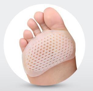 1 زوج الجبهة كم نوع هلام السيليكا العسل تعديل مكافحة الألم تنفس سادة الوحيد سيدة أحذية عالية الكعب نعل قدم الرعاية