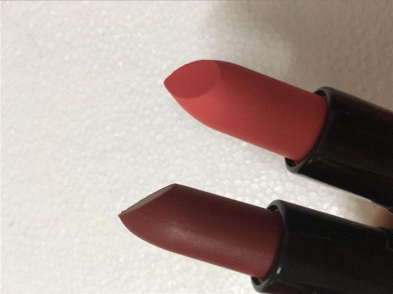 M C 2017 puro matte Nutcracker Doce Matte Batom Venda QUENTE Marca 12 cores Cosméticos Batons Maquiagem tipo clone