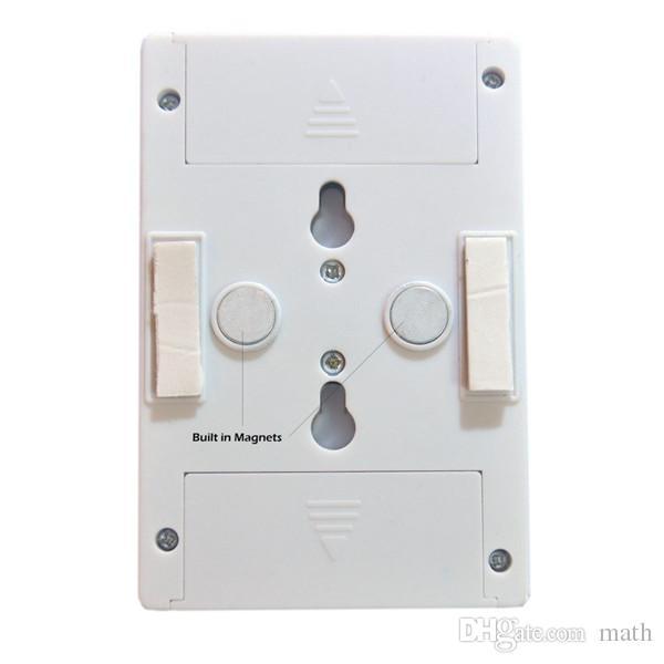 COB LED Anahtarı Işık Kabine Dolap Dolap Mutfak Kablosuz Altında Kablosuz Gece Lambası
