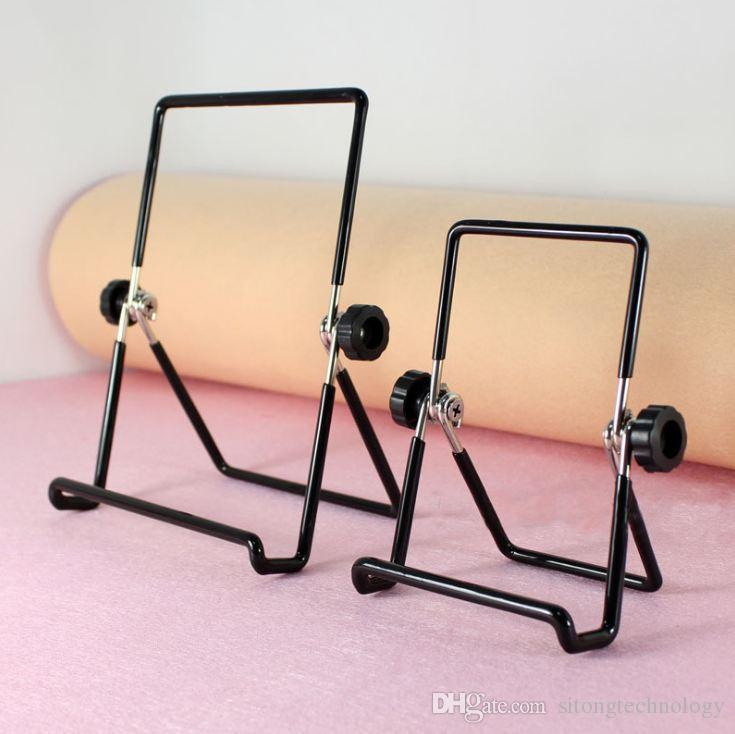 NUEVO soporte antideslizante de escritorio multiángulo y soporte de soporte de acero plegable plegable portátil para iPad 2 3 4 Air Mini