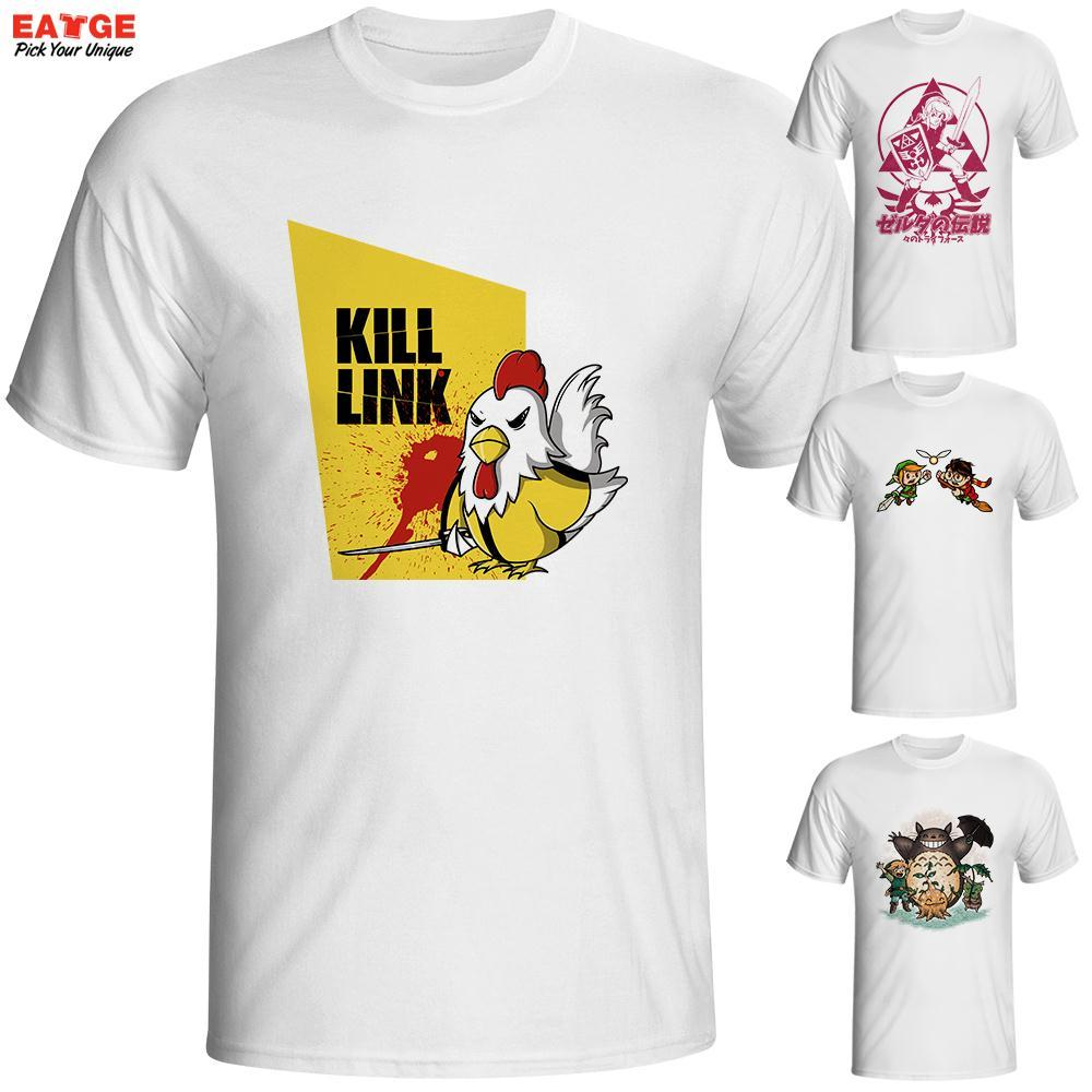 Wholesale The Legend Of Zelda T Shirt Cool Fashion Parody Tee
