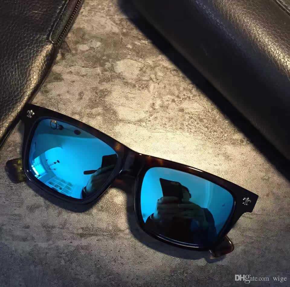 11d5935184e9b Compre Men Square Pilot Óculos De Sol Sonnenbrille Des Lunettes De Soleil  Luxo Designer Óculos Gafas De Sol Novo Com Caixa De Wige,  59.4    Pt.Dhgate.Com
