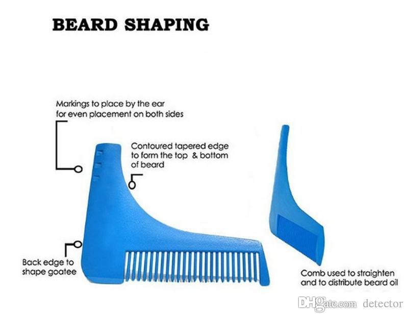 NEW Beard Bro Beard Shaping Tool for Perfect Lines Hair Trimmer for Men Trim Template Hair Cut Gentleman Modelling Comb