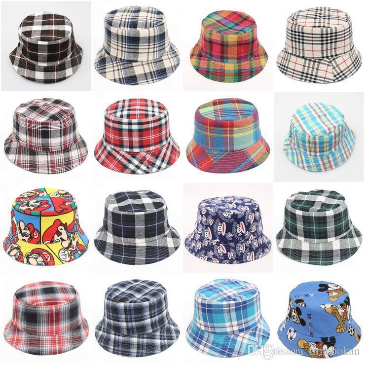 3351f9ec24a Children Bucket Hat Casual Flower Sun Printed Basin Canvas Topee Kids Hats  Baby Beanie Caps Children Baby Kids Bucket Hat Casual Kids Sun Hats Baby  Beanie ...