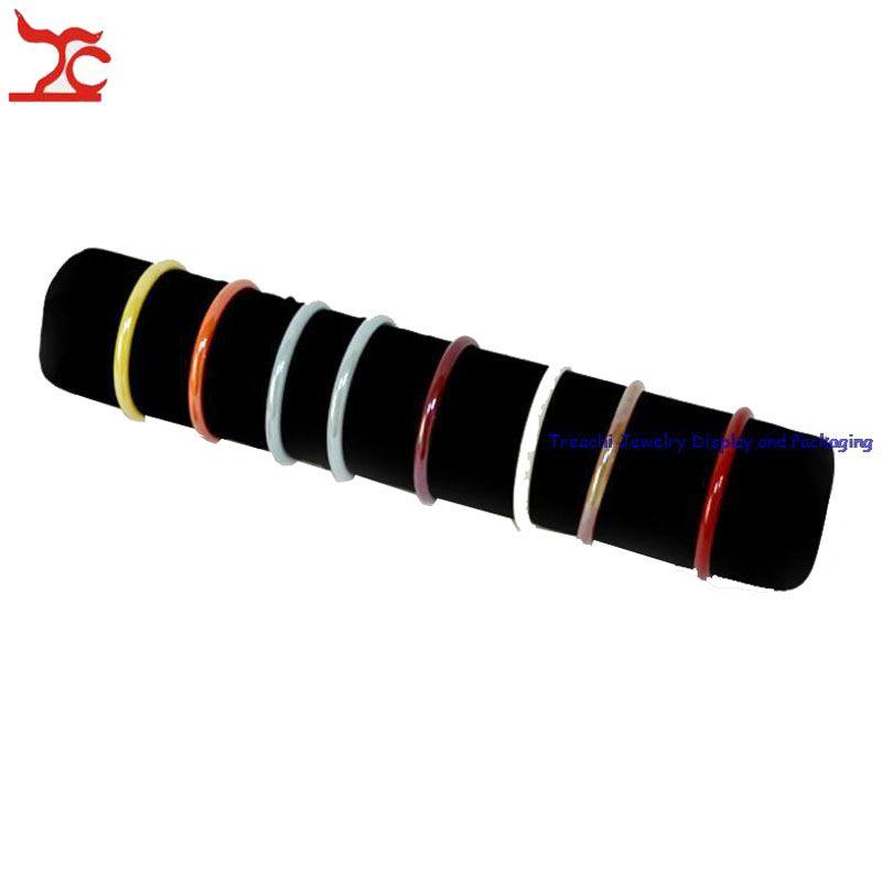 Новый искусственная кожа молния сумка с подушкой бар часы чехол браслет держатель организатор путешествия ювелирные изделия браслет ролл сумка 36*8 см