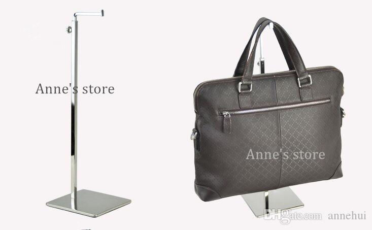 handbag display stand, women bags display rack,adjustable metal hat wig Purse silk scarf hanger display holder rack