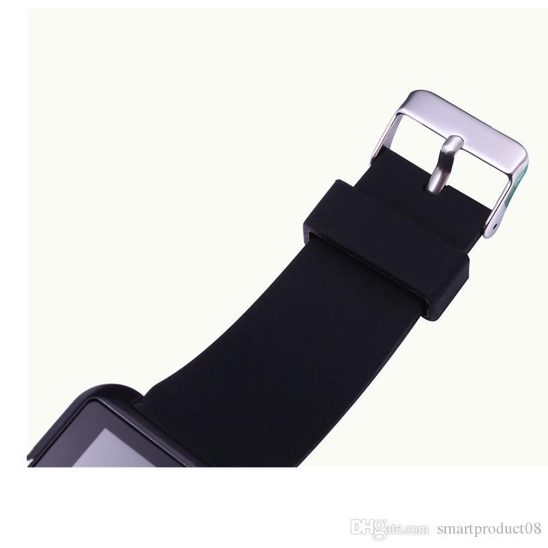 SmartWatch U8 Bluetooth U8 Akıllı Izle IOS IPhone IPhone Için 4/5 S / 6 Samsung S4 / Not 3 HTC Android / Windows / Ios Telefon Akıllı