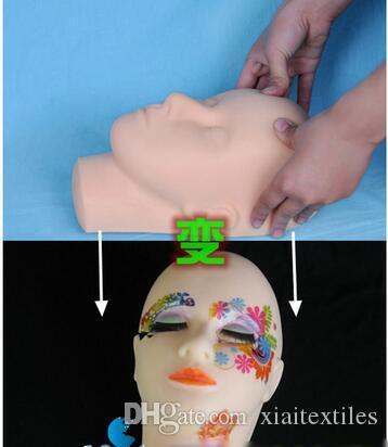 tête de mannequin pour cils à vendre affichage / tête de coiffure pour perruque / écouteurs Convient, mannequin femme, livraison gratuite M00481