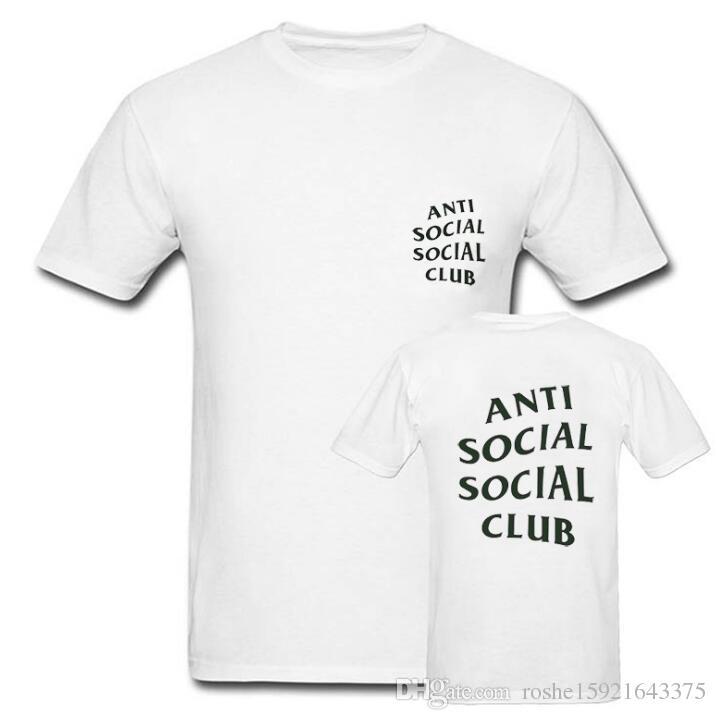 803175b5e 2016 Brand Hip Hop Tees ANTI SOCIAL SOCIAL CLUB T Shirt Men Women 1: 1  Excellent Quality ASSC ANTI SOCIAL CLUB Shirts Canada 2019 From  Roshe15921643375, ...