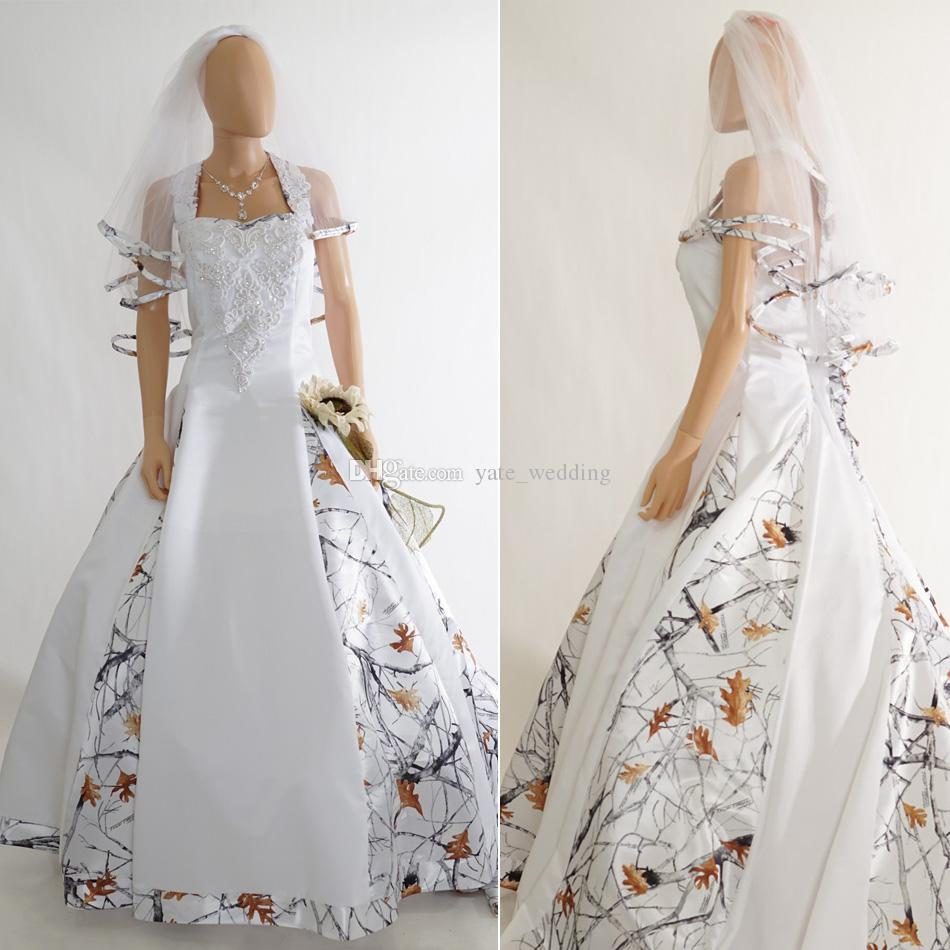 2018 newest snow white camo wedding dresses sweetheart real tree 2018 newest snow white camo wedding dresses sweetheart real tree timber ball gown wedding dresses country cowgirls bridal dresses black and white wedding junglespirit Image collections