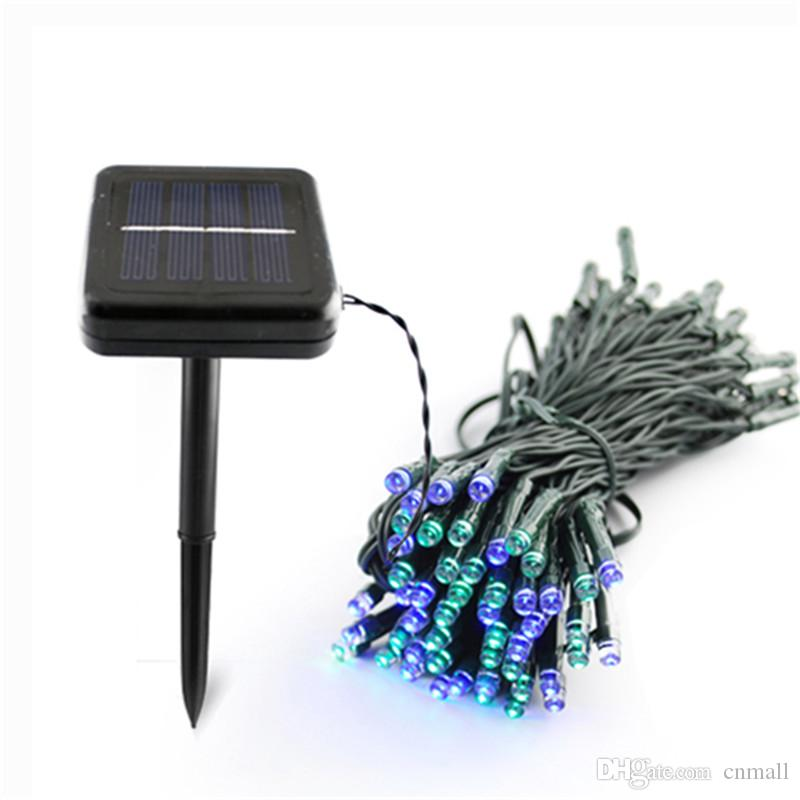 100 led 200 led outdoor 8 modes solar powered string light garden christmas party fairy lamp 10m 22m c9 led christmas light strings string lights led from