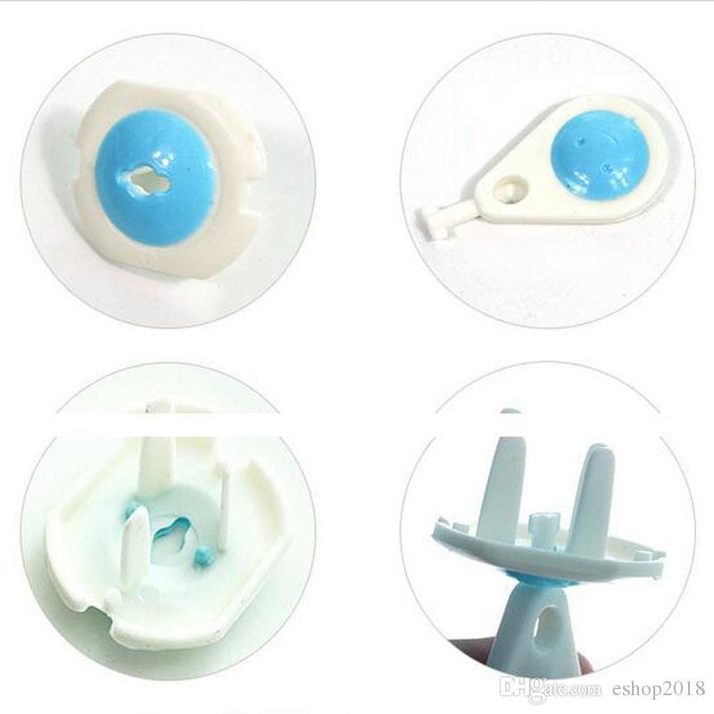 Europe Standard Socket Safe Lock Cover Child Kids Electric Socket Security Plastic Safety Plug Outlet Baby Care