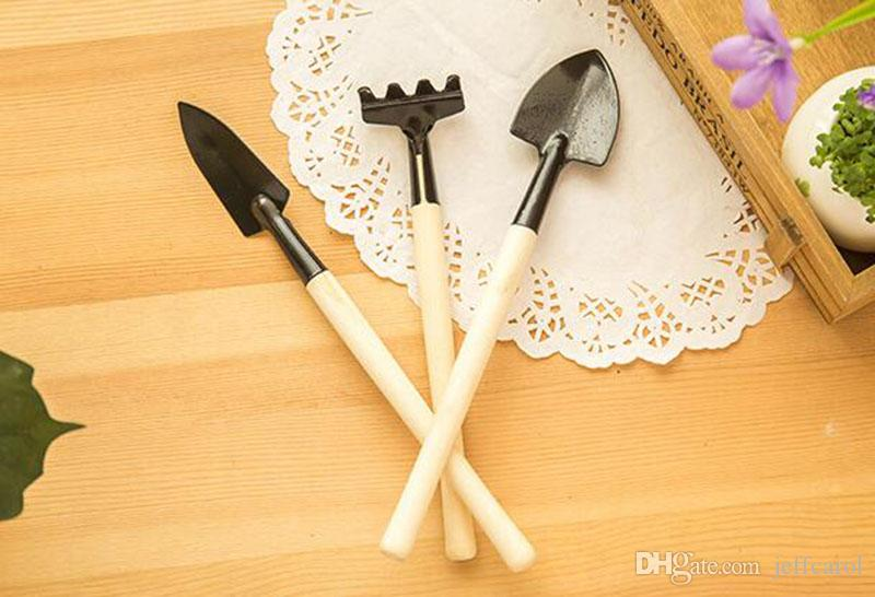 / set! hand tools gardening kit ferramentas bonsai Iron shovel rake shovel ripper garden digging tools