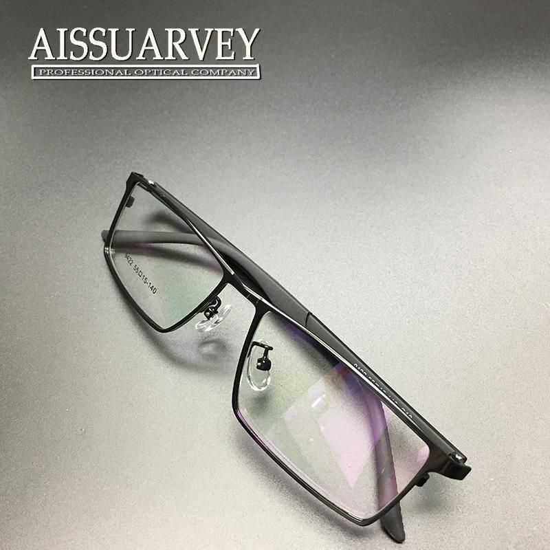 Großhandel Männer Gläser Rahmen Optische Metall Licht Brillen ...