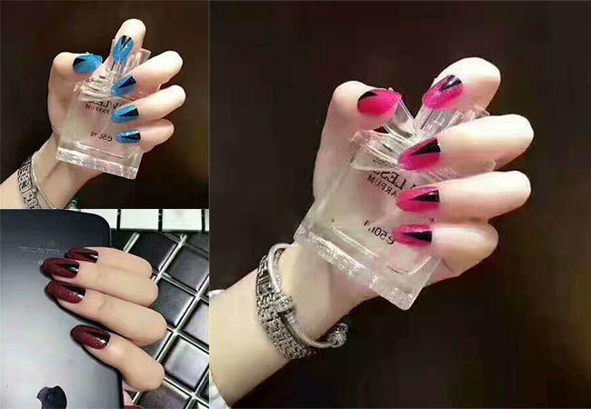 2017 Wholesale Fashion Sticker Nail Art Paint Uv Gel Jamberry Nail