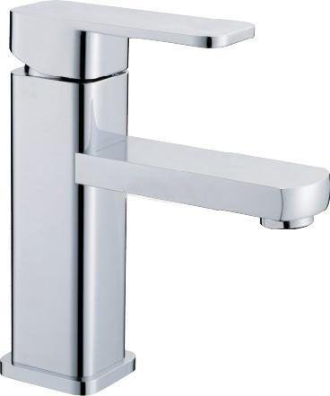 BLL Modern Chrome Bathroom Basin Brass Faucet Single Handle Sink Mixer Tap Deck Mounted NY00511