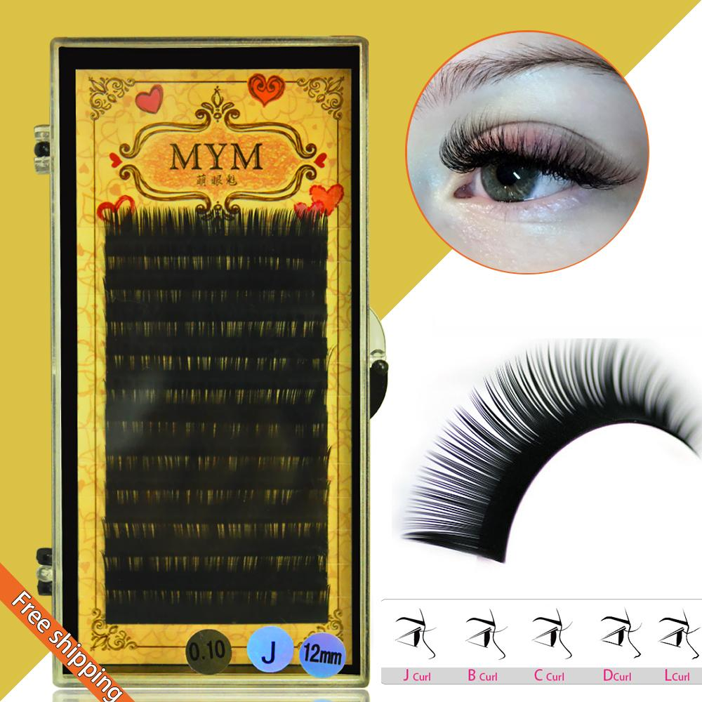 Wholesale Free Shipping005 Jbcd Curl Mink Eyelash Extension Thin