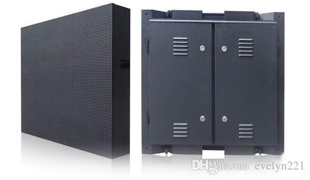 960 * 960 mm gabinete impermeable RGB DIP pantalla de visualización a todo color P10 LED de pantalla grande impermeable al aire libre de 96 * 96 píxeles