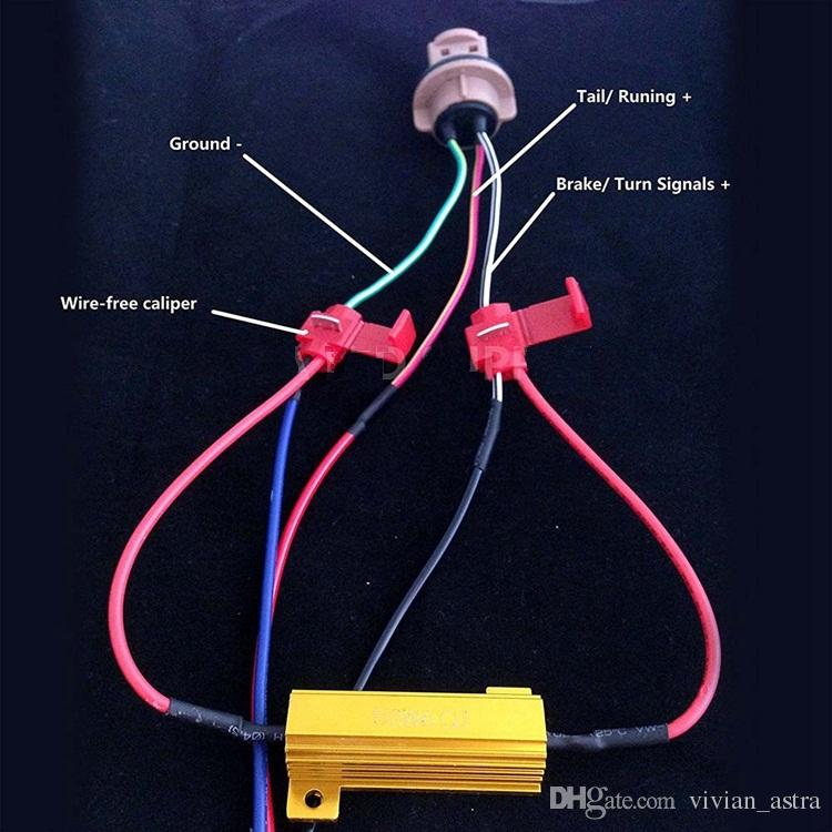 Resistenze di carico / 50W 6ohm - Fix LED Bulb Fast Hyper Flash Codice lampeggiante Codice errore lampeggiante