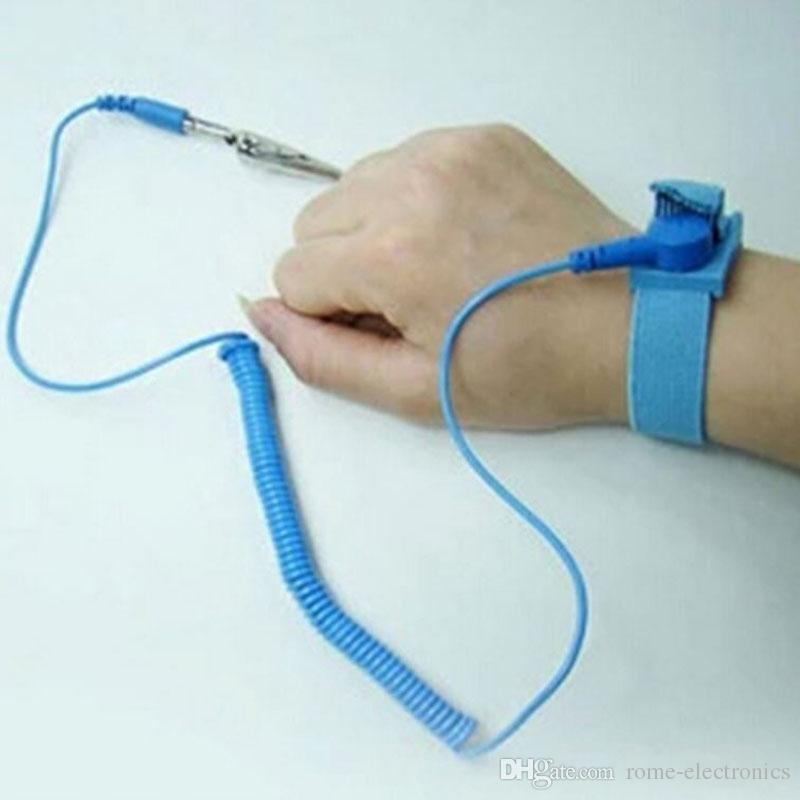 ESD-Handgelenk-Bügel-Krokodilklemme Anti-statische Entladungs-Band-Erdung verhindern statischen Schock