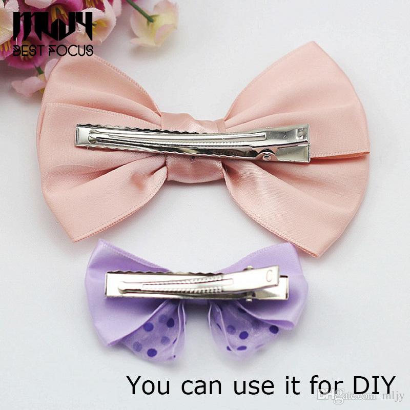 Pinzas de cocodrilo de una sola punta MLJY con dientes Pinzas para el cabello boutique Pinzas para el cabello para el arco del pelo de DIY / pinzas para el arco / AL POR MAYOR