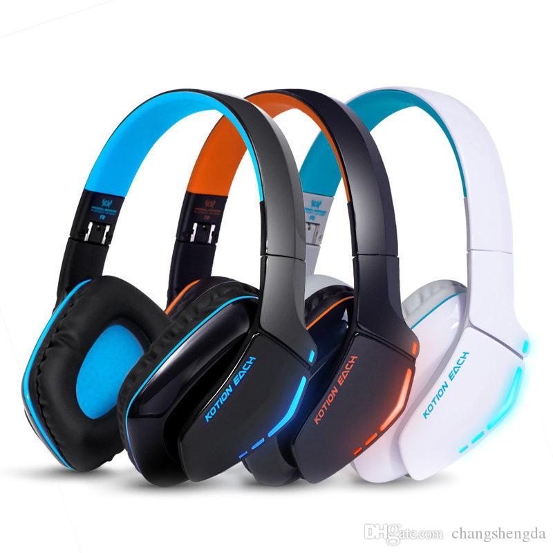 8392c51dfb2 KOTION EACH B3506 Noise Isolation Bluetooth Stereo Headphone Foldable Best  Wireless Music Headset With Mic 3.5mm Cable For Phone UK 2019 From  Changshengda, ...