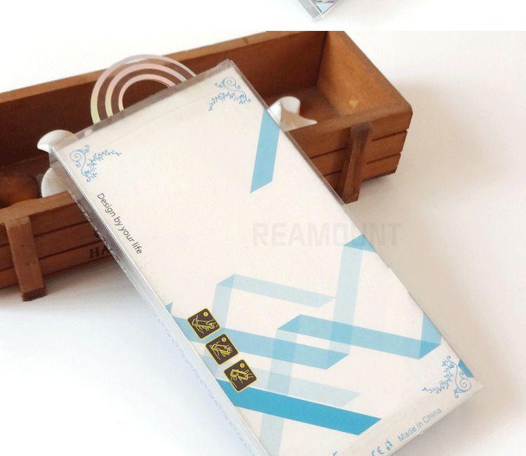 Toptan Paket PVC Plastik Perakende Ambalaj Kutusu İç Ekle ile iPhone 7 6 Koruyucu Cep Telefonu Için Deri Kılıf