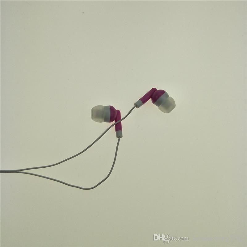 الجملة بالجملة سماعات الأذن سماعة سماعة رأس 3.5MM في سماعات الأذن للهاتف المحمول MP3 MP4 روز / الحرة الشحن