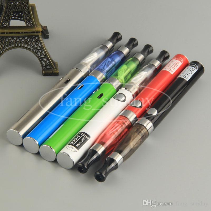 Vapes Ego t CE4 E Cigarette Starter Blister Card Kits 650/900mAh UGO V II Battery Micro USB Passthrough eCig Vaporizer Pens