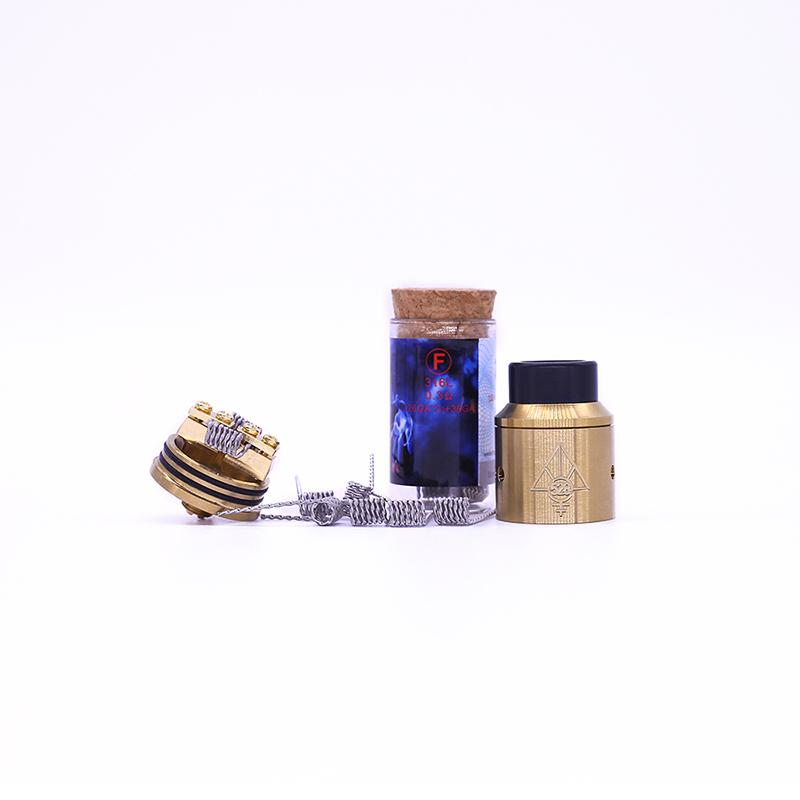 Demon Killer Flame Coil Prebuilt Flame Wire 316L Heating Wire 6 Types fit DIY E Cigarette RDA RTA High quality Factory Price DHL Free