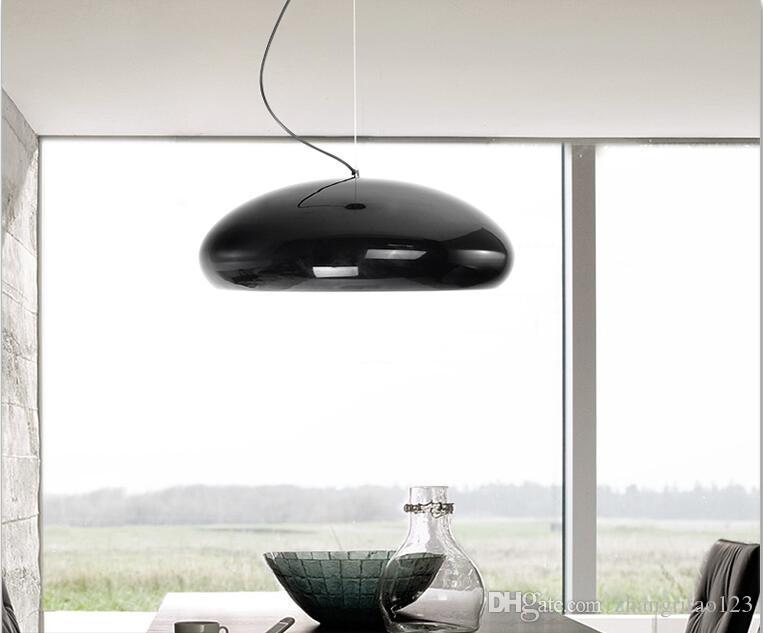 Nordic Creative Glass Pendant Light Modren Single Auminum Hanging ...