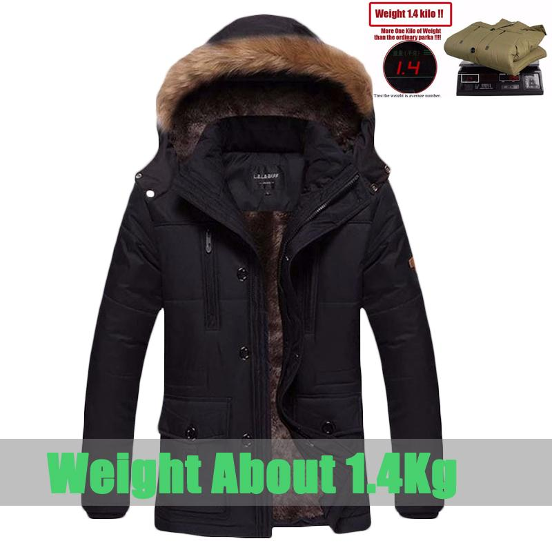 9626bd654 Wholesale- Hot sale winter jacket men fashion casual cotton down coat slim  fit outwear fleece thicken warm winter parka men`s size L~5XL