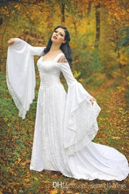 Discount Fantasy Fairy Wedding Dress Custom Wedding Dress For