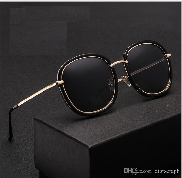 06dc17ea73 2017 Male Women s High-end Square Sunglasses Polarized the New Retro ...