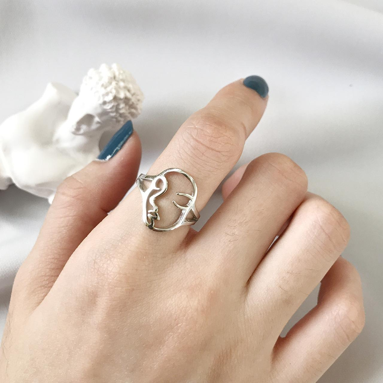 rings moon ring product lou omero home face zeldis