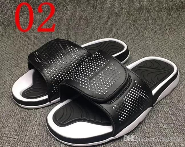 57ac8b42cb63 Summer Retro 4 Slippers Hydro IV Airs 4s Sandals Men S Fashion Outdoor  Casual Basketball Sneakers Slippers Size 40 47 Cheap Shoes Riding Boots  From Bags256
